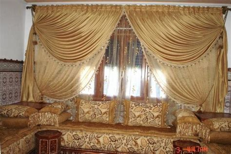 rideau marocain pour salon salon marocain