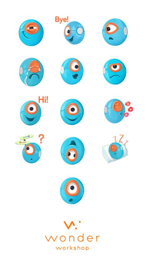 Dash & Dot Robot Stickers On The App Store