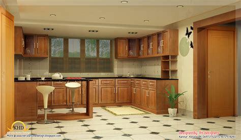Home Interior Kerala Style : Beautiful 3d Interior Designs