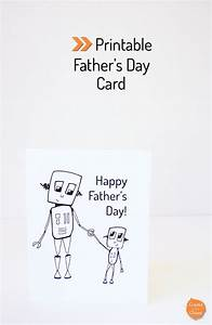 Printable Father's Day Card - Create in the Chaos