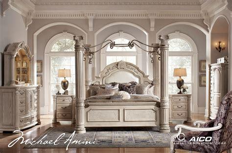 Michael Amini Bedroom Set by Michael Amini Monte Carlo Silver Pearl Ii Traditional