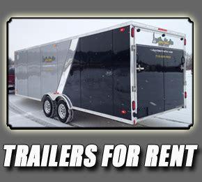 Pontoon Trailer Rental Eau Claire Wi by Anytime Trailer Trailer Sales Trailer Rental Boat