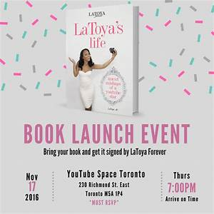 book-launch - Official LaToya Forever Website