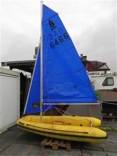 Zeilbootje Roeiboot by Rubber Zeilboot Tinker Foldaway Advertentie 541372