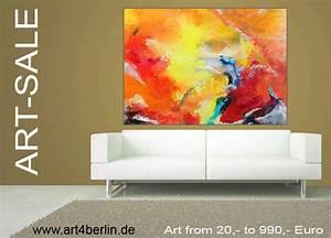 Bilder Günstig Kaufen : art sale moderne kunst abstrakte lgem lde gro e acrylbilder g nstig in zwei berliner ~ Markanthonyermac.com Haus und Dekorationen