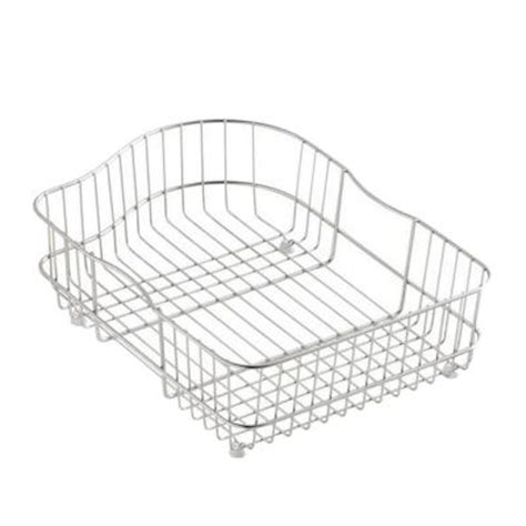 kohler hartland wire rinse basket for right basin sinks k 6603r st the home depot