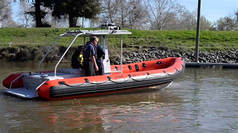 Swift Water Boat by Mutual Aid Swift Water Rescue Boats Hit Sacramento Area