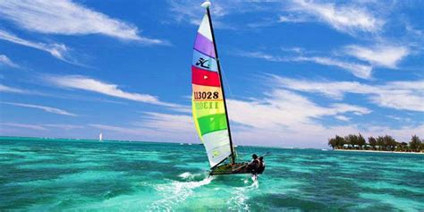 Catamaran Sailing Experience by Hobie Cat Sailing Experience Mauritius Attractions