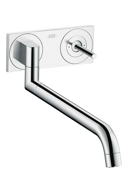 axor uno2 kitchen taps by design for hansgrohe