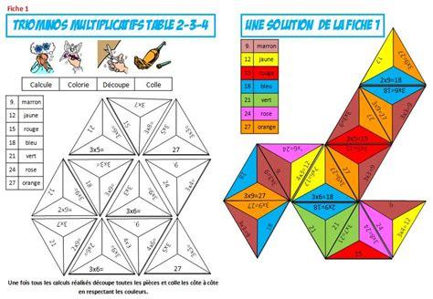 jeu table de multiplication ce2 12 jeu gratuit sur les tables de multiplication de 4596