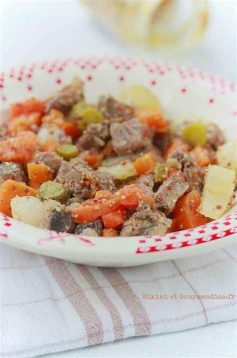 salade de pot au feu et gourmandise