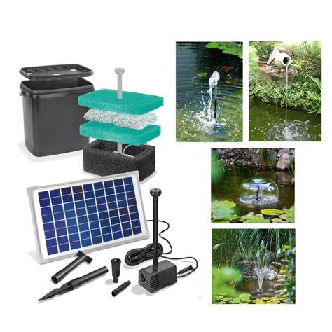 kit pompe solaire bassin napoli avec filtre sur solairepratique kits pompe et quipement de