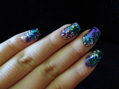 glitter gel nails without uv lights meebsie s world