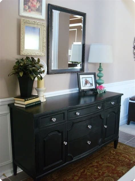 Like The Use Of The Dresser In A Foyer  Foyer Pinterest
