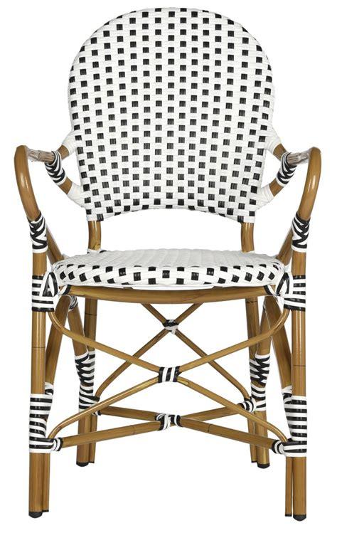 pe wicker armchair dining chairs safavieh