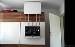 Schrank An Der Wand Befestigen : suche lcd halterung auf schlafzimmerschrank zum hervorziehen racks geh use hifi forum ~ Markanthonyermac.com Haus und Dekorationen