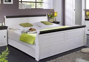 Tagesbett Holz Weiß : massiv holzbett 180x200 bett doppelbett kiefer massiv holz wei kolonial ~ Markanthonyermac.com Haus und Dekorationen