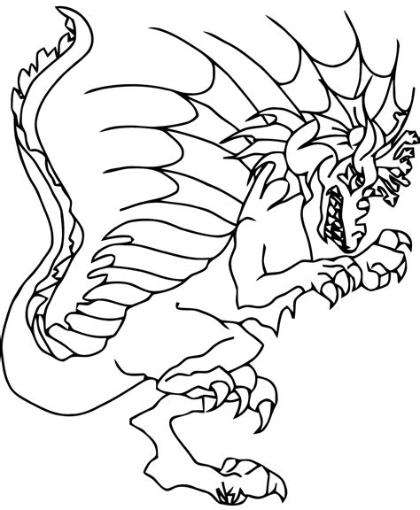coloriage monstre et compagnie imprimer