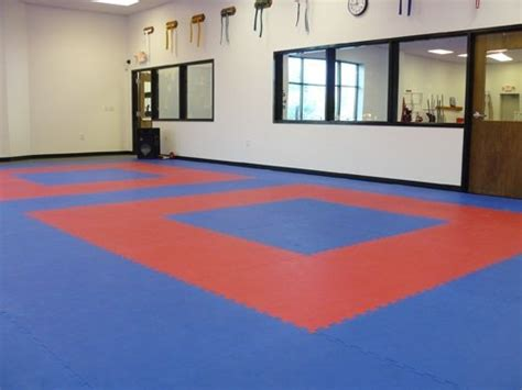 Martial Arts Dojo Floor & Folding Mats Waterproofing Basement Floor Best Way To Get Rid Of Spiders In Kitchen The X Site Poured Cost Monster Island Soundproofing Apartments For Rent Long