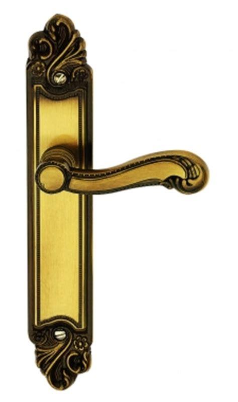 poign 233 e de porte int 233 rieure en laiton patin 233 sur plaque bdc entraxe 195 mm louis xv poign 233 e