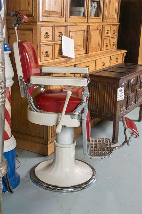 antique emil j paidar barber chair at 1stdibs