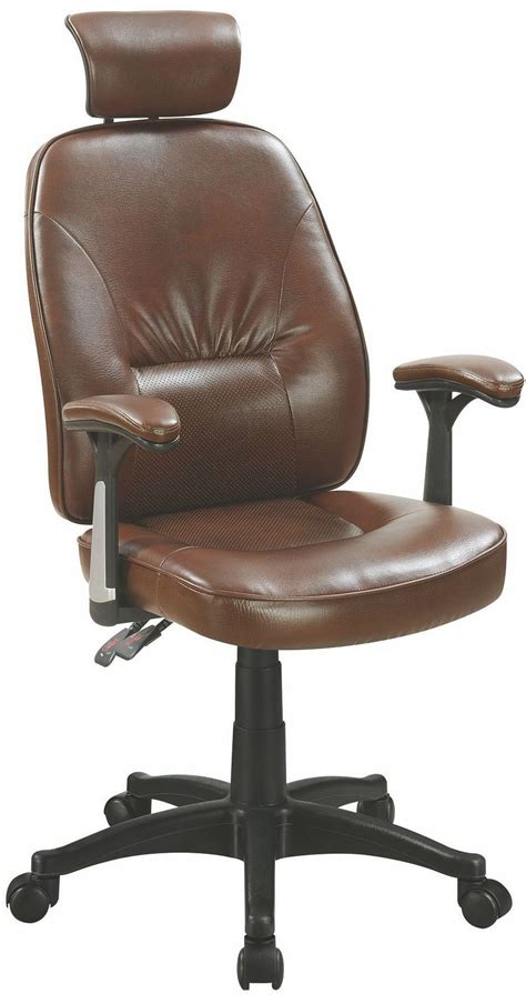 Brown Office Chair, 881052, Coaster Furniture