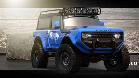 2020 Ford Bronco Imagined As A Goeverywhere 4x4