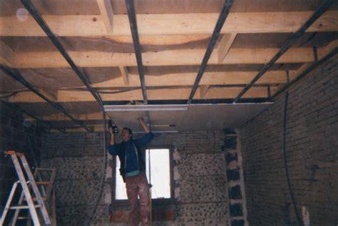 faux plafond suspendu