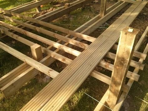 decking are these joists enough for the joist spacing beam spacing i am planning on my