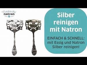 Backofen Reinigen Mit Natron : silber reinigen mit natron und essig youtube ~ Markanthonyermac.com Haus und Dekorationen