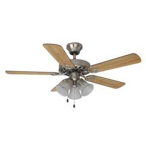 mainstays 42 quot ceiling fan with light kit satin nickel 17777 walmart