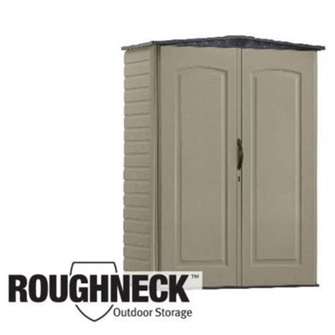 Roughneck Vertical Storage Shed by Rubbermaid Roughneck X Small Vertical Storage Shed 3749