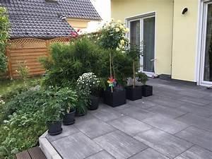 Gräser Kübel Terrasse : gartengestaltung mit rosen f r beet terrasse rankgitter hausbau blog ~ Markanthonyermac.com Haus und Dekorationen