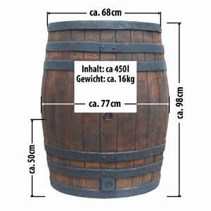 Maße 200 L Fass : regentonne eichenfass 450l in holzoptik regentonne ~ Markanthonyermac.com Haus und Dekorationen