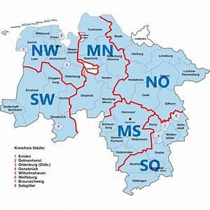 Süd Ost West Nord : weitere regionen in nds region nord west ~ Markanthonyermac.com Haus und Dekorationen