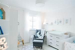 Babyzimmer Bilder Ideen : babyzimmer hellblau grau ~ Markanthonyermac.com Haus und Dekorationen