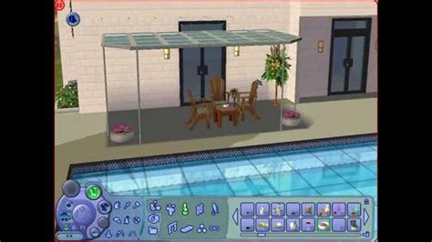 construction et d 233 co maison moderne avec piscine sims 2