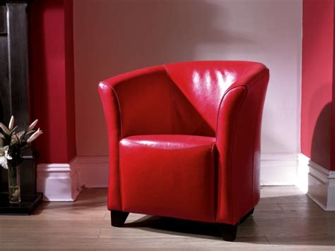 leather tub chair leather