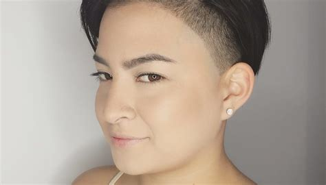 Women's Sleek Edgy Undercut Pixie On Dark Hair Short Hairstyle Hairstyles For Long And Fat Faces 2 Thin Straight Hair Layered Haircuts Round 2016 Thick Wavy Guys Modern Short Cute Fun Quick Best Prom Oval Indian