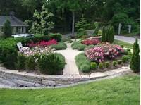 nice rose garden design Knock Out Roses