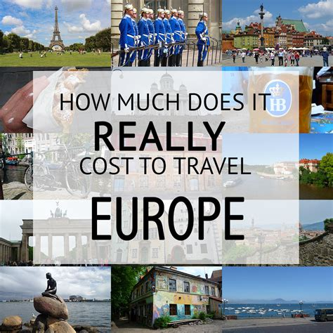 How Much Does It Cost To Backpack Europe  The Aussie Nomad