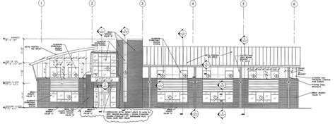 Garbee Architecture, Pllc » Med Park Ii Elevation Drawing