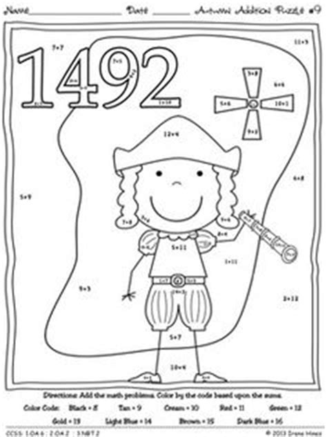 13 Best Images Of Christopher Columbus Kindergarten Worksheets  Christopher Columbus Activities