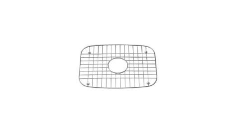 16 kohler hartland sink rack kohler hartland stainless steel right side sink rack