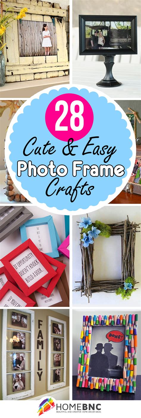 28 Best Diy Photo And Picture Frame Crafts (ideas And Designs) For 2018