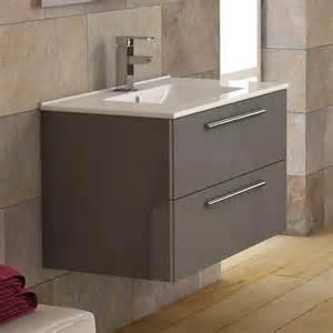 meuble salle de bain 80 cm plan vasque c 233 ramique 2 tiroirs ola 2