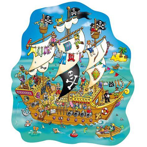 Schip Puzzel by Puzzel Piratenschip Wolkewietje Speelgoed
