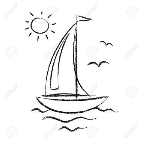 Cartoon Drawing Of A Boat by 35 Awesome Sailing Boat Cartoon Images Sailboat Tattoo