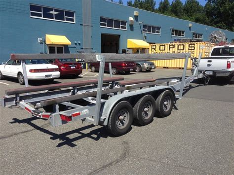 Boat Trailer Triple Axle Used by 2008 13000lb Triple Axle Boat Trailer Priced To Sell