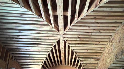 Groin Vault Ceiling Framing by Masters Touch Custom Homes Design Trends Groin Vault